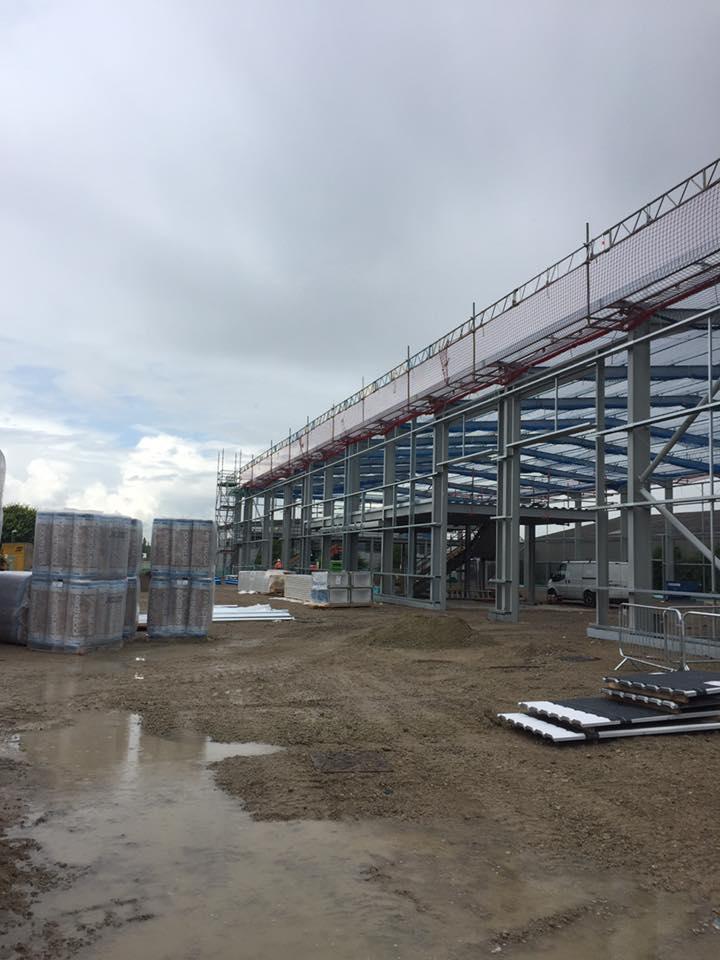 New warehouse  thurrock